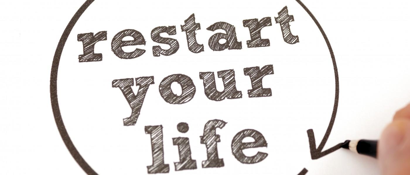 ¡6 pasos para RE-iniciar tu vida!